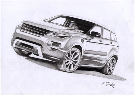 range rover sport drawing range rover by mipo design on deviantart