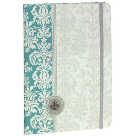 design features journal the aqua prints hardcover journal features a decorator