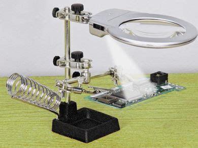 Baru Pegangan Solder 2 Kaca Pembesar Dan Fleksibel Led Model Te pegangan solder kaca pembesar senter led jual murah kaskus
