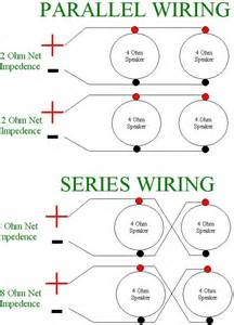 parallel vs series wiring speakers parallel wiring diagram free