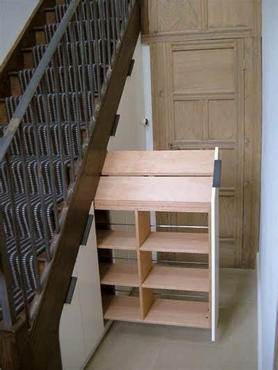 Stairs Pantry Storage Solutions by 1000 Ideas About Stairs Storage Solutions On