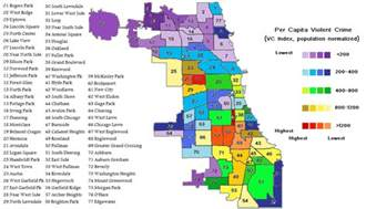 Crime Map Chicago by Violent Crime Map Edited Once Again Chicago Crime Blog
