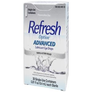 refresh optive advanced lubricant eye drops refresh optive advanced drop mck