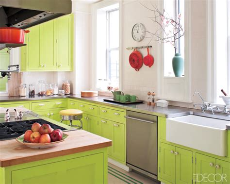 lime green kitchen cabinets color living with green this lovely home