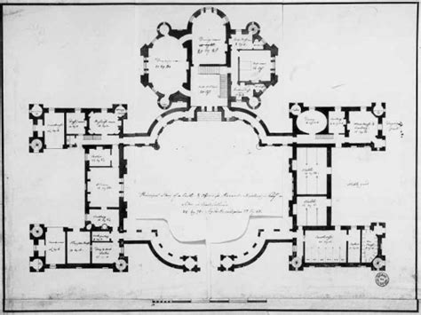 castle blueprint floor plans for a castle house floor plans