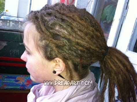 beautiful and well kempt dreadlocks without dreadwax
