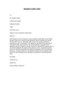 Creditor Letter Template by Sle Credit Letter Hashdoc