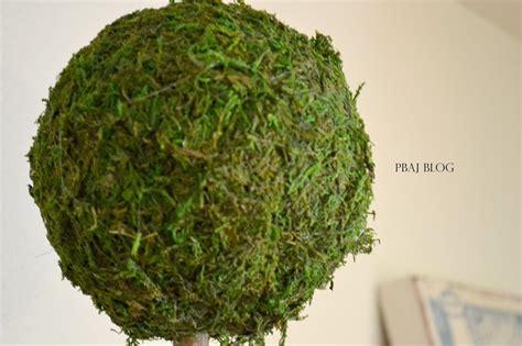 topiary moss pbaj diy moss topiaries