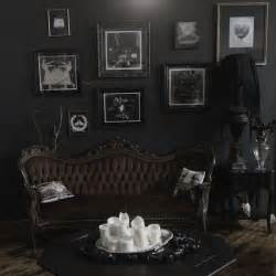 black gothic living room decor with vintage photograph best 25 gothic home decor ideas on pinterest french