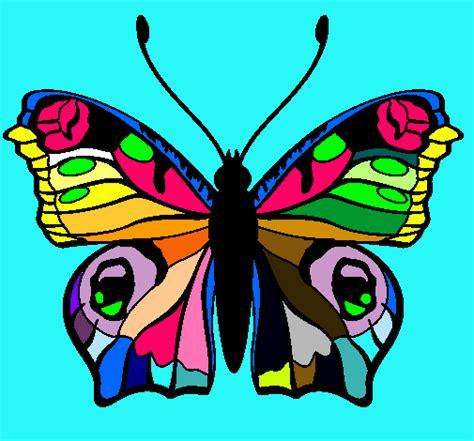imagenes originales de animales dibujo de mariposa pintado por colorida en dibujos net el