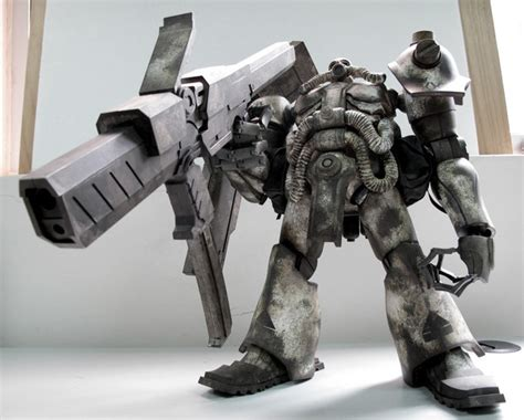 Mecha Blade Chain Blade No3 terrifying new gundam figure from metal gear solid artist