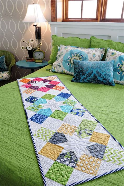 Patchwork Bed Runner Patterns - 598 best patchwork table runners tablecloths bed