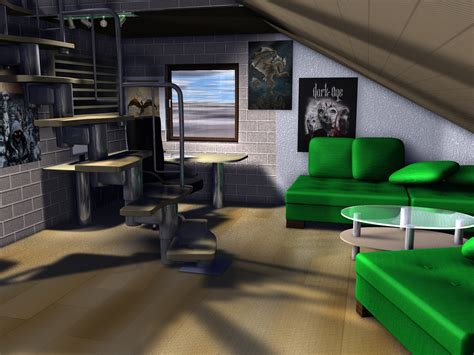 here in my bedroom my room in 3d by anthala91 on deviantart