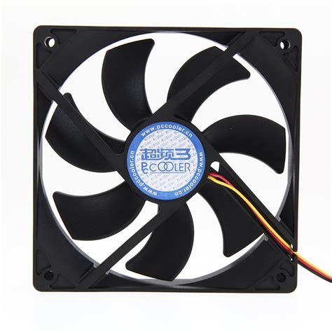 most quiet cpu fan fw1s mute quiet 12v 120mm computer pc case 3 4 pin
