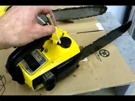 Chain Saw Mini chainsaw repair mcculloch mini mac 35