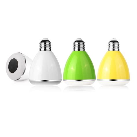 Multicolor Led Light Bulb Led Multicolor Light Bulb Bluetooth Speaker Dl Pc002 White Jakartanotebook