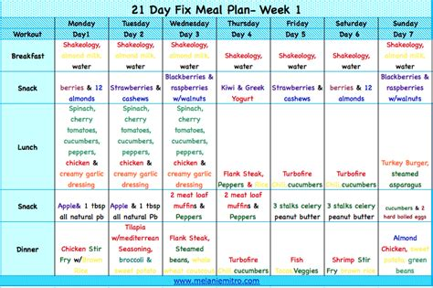 21 day fix print outs search results calendar 2015