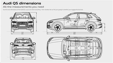 Abmessungen Audi Q5 by Q5 Gallery Audi Uk