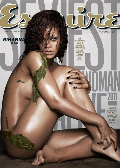 Peoples Sexiest Alive 2011 Is by Rihanna Is Esquire S Sexiest Alive Entertainment
