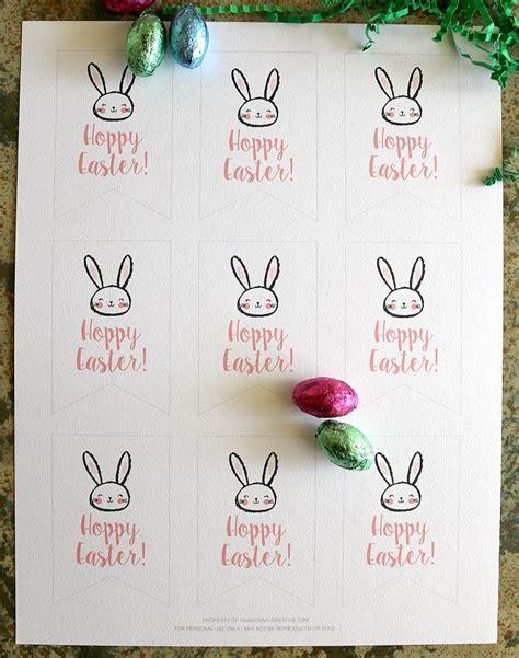 Free Printable Easter Tags