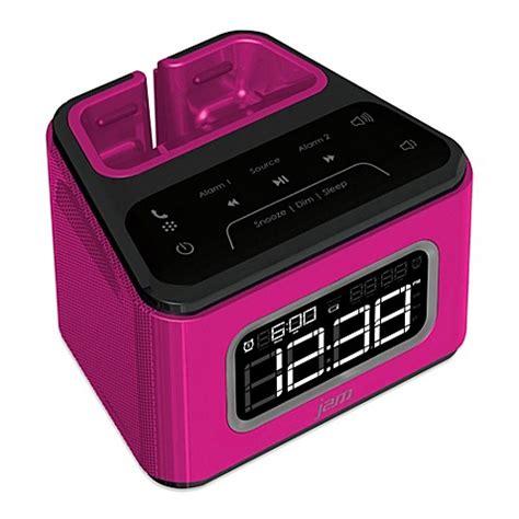 Alarm Jam jam zzz bluetooth alarm clock bed bath beyond