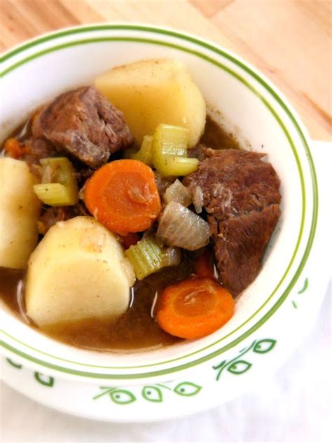 the red gingham paula deen s old time beef stew
