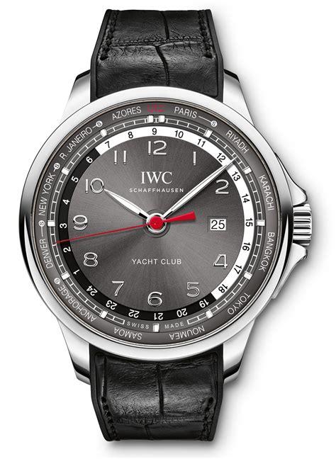 yacht watch iwc portugieser yacht club worldtimer watch ablogtowatch
