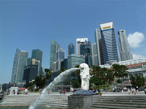 Pajangan Merlion Singapore file merlion statue merlion park singapore 20110723 jpg