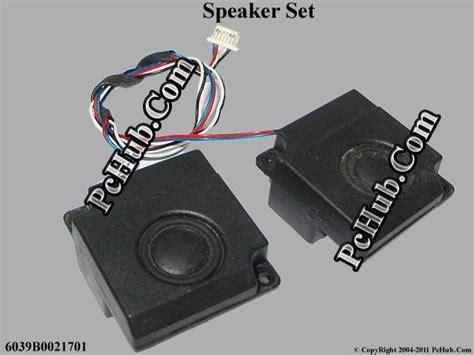 Speaker Laptop Toshiba L300 Toshiba Equium L300 Series Speaker Set 6039b0021701