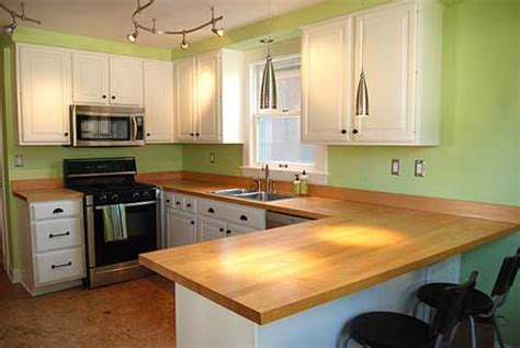 small kitchen countertop ideas wood kitchen countertops kitchen ideas