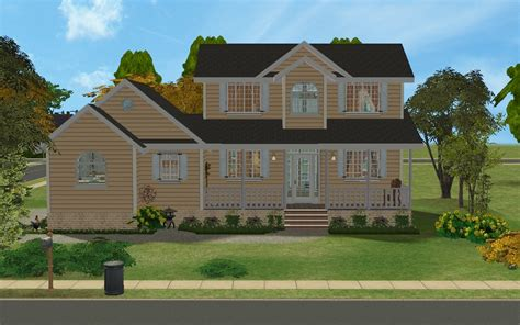 2 family house mod the sims country family house