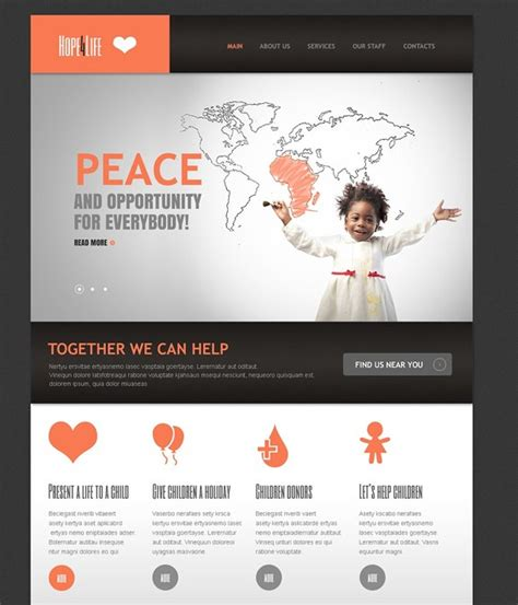 drupal themes nonprofit 8 of the best drupal themes for charities nonprofits down