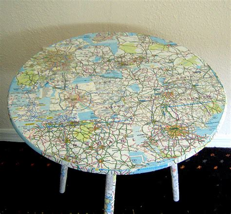 Decoupage Map - benchmark maps atlases 22 crafts with maps and atlases