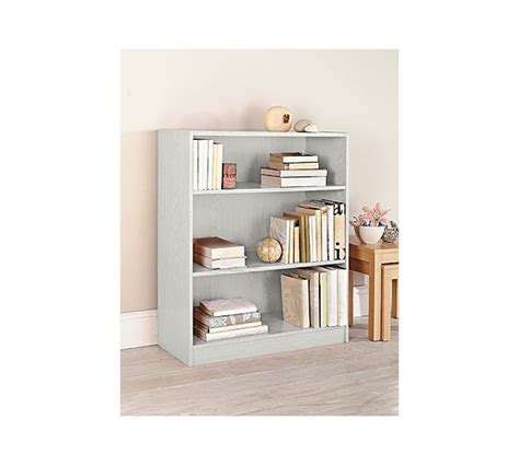 buy home maine small bookcase white at argos