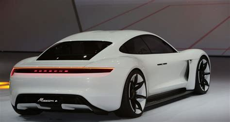 electric porsche porsche s electric car could be tesla s