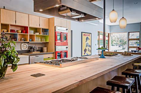 Modern Barn Kitchen by Vashon Barn Conversion Modern Kitchen Seattle By Floisand Studio