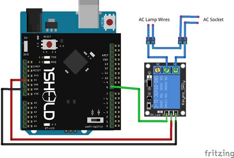 your home lights using your voice with arduino and