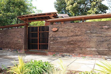 Japanese Gardens Clay Wall Fence Sf Bay Area Bio Friendly Japanese Garden Wall