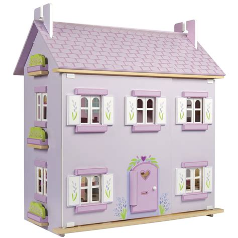 toddlers dolls house lavender house le toy van h108 dolls houses lavender house le toy van h108