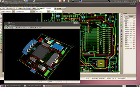 pcb layout software kicad computer stuff
