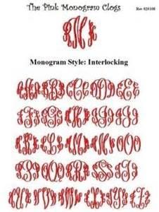 monogram websites interlocking font photo by monogramsbykim photobucket