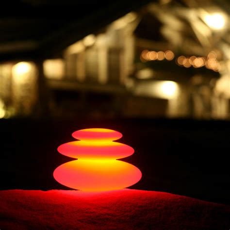 rock garden lights zen rock garden lights stanchions traffic cones for