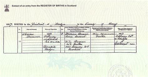 full birth certificate copy scotland certificates and copies scotlandspeople