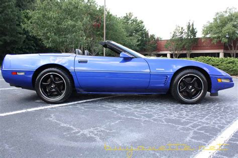 1996 corvette grand sport convertible for sale