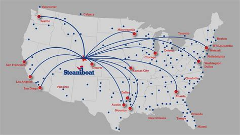 non stop flights to steamboat springs co steamboat resort