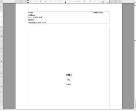 Manuscript Template For Apple Pages | novel manuscript template by kimberlydawn on deviantart