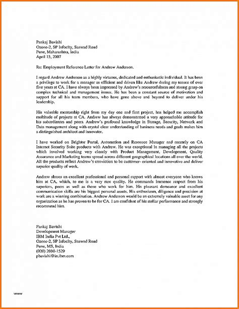 Letter Of Reference Business Development letter of recommendation new recommendation letter for