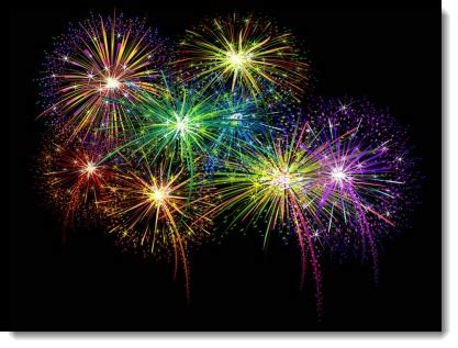 Animated Fireworks Slide The Powerpoint Blog Fireworks Powerpoint Animation