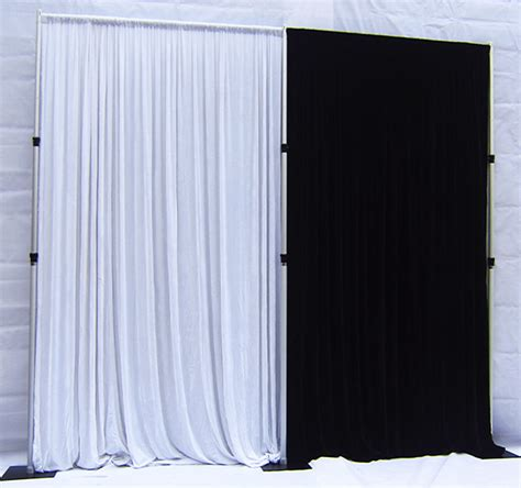 pipe and drape cost pipe drape corporate stage solutions stage hire