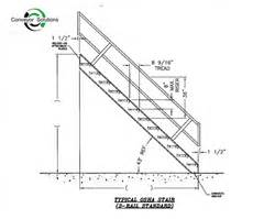 Osha Industrial Stairs by Osha Standards Stairs Submited Images